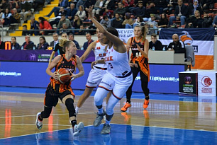 UMMC powered its way past Cukurova and collected the first hundred in the season