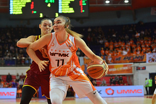 UMMC advanced to the Russian Cup Finals