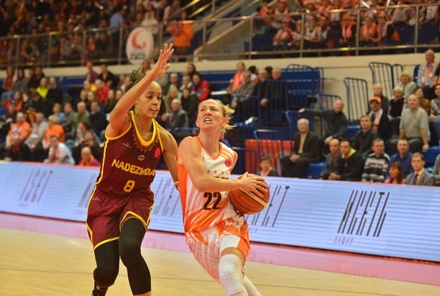 UMMC upset Nadezhda for the fifth time in the season