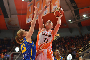 UMMC beat Castors Braine twice and came up with the third hundred
