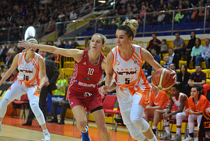 UMMC advanced to the Russian Cup Semi-Finals after blowing out MBA Moscow